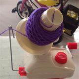 Enrolador De Fios Lã Croche Maquina De Trico Novelo