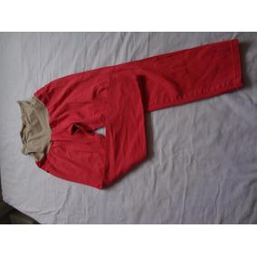 Pantalon Import. Maternal Embarazada Coral Talla M Oferta