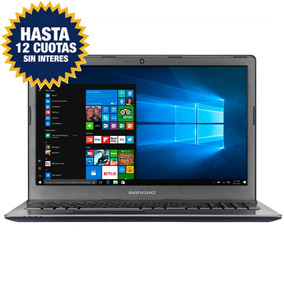 Notebook Bangho I3 15,6 Hd 4gb 1tb Windows 10 Usb 3.0