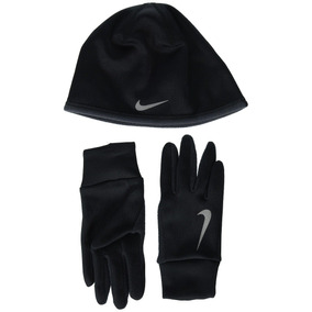 Conjunto Gorro Y Guantes Nike Para Frio Talla Xs