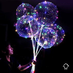 Globos Led Gigante 45 Cm + Micro Led + Base Globo Decoración