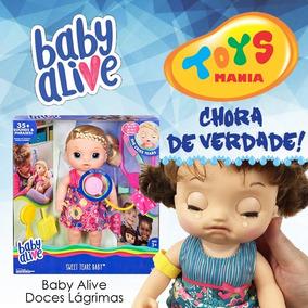 Baby Alive Doces Lagrimas Loira Ou Morena Versão Brasileira