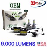 Focos H4,h7,h1,h11/ Kit Led 9.000 Lumens, 200% Más Potencia!