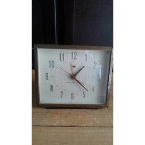 Reloj Antiguo Despertador Electrico De Mesa General Electric