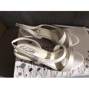Zapatos Sandalias Novia 37