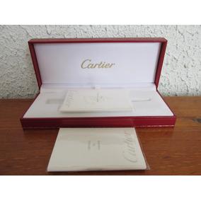 Elegante Y Fino Estuche Para Lapicera Cartier Escaso