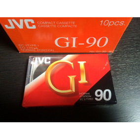 Antiguos Cassettes Nuevos Sellado Jvc