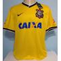 Camisa Corinthians Amarela Nike Elias Homenagem Seleção 2014