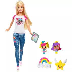 Barbie Em Um Mundo De Vídeo Game Mattel