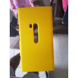 Capa Policarbonato Emborrachada Nokia Lumia 920 - Amarela
