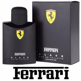 Perfume Importado Ferrari Black Masculino Original 125ml