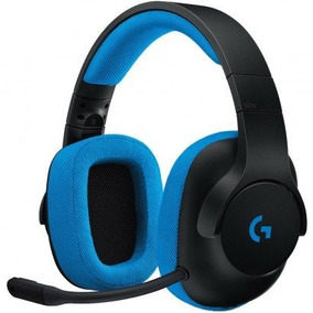 Headset Gamer Logitech Prodigy G233 Preto/azul 981-000702