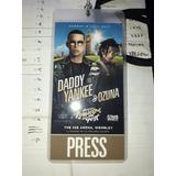 Coleccionistas!! Press Pass Y Tracklist Daddy Yankee Y Ozuna