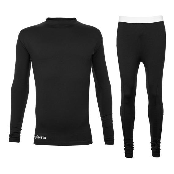 Equipo Remera Termica Calza Larga Kit Primera Piel Camiseta