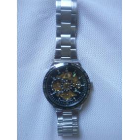 fa113240962 Relógio Ik Colouring Skeleton Automático - Relógios De Pulso no ...