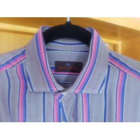 Camisa Etro. Medida 16/ Entre L Y M. ¡como Nueva!