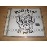 Motorhead On Parole (cd) (arg) Consultar Stock