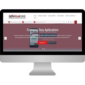 Loja Virtual Completa Responsiva Com Aplicativo Android