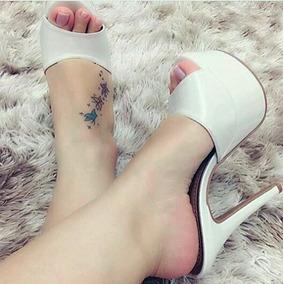 Sapatos Femininos Sandalias Tamancos Mega Pata