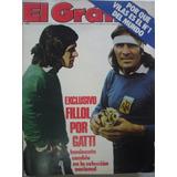 El Grafico 3025 Selección Argentina Fillol-gatti Vilas Nro 1