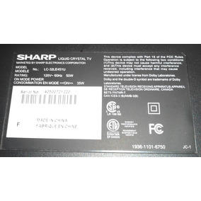 Tv Led Sharp 32