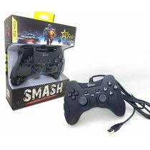 Controle Ps3 E Pc Com Fio Dualshock Playstation 3 - Preto