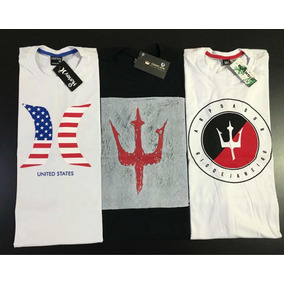 Kit Com C 5 Camisetas Estampadas. R  120 385ea8ea1db35