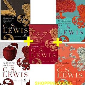 Kit C.s. Lewis 5 Livros Cartas De Um Diabo E Mais Livros