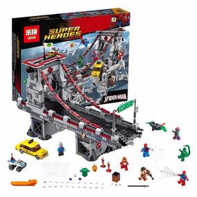 Lego Homem Aranha De Brinquedo Guerra Ponte 1179 Pecs Marvel