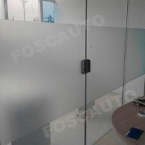 Adesivo Jateado Box Banheiro Janela Vidro Blindex 2m X 60cm