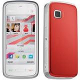 Nokia 5230 Branco E Vermelho 3g 2mp Touchscreen Claro