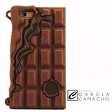 Capa Case Iphone 6 Luxo Chocolate Impacto + Película Impacto