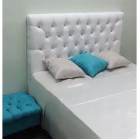 Cabeceira Queen Size P/cama Box 1,60 Largura Captone Corino