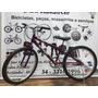 Bicicleta Aro 24 Macol Violeta Roda Comuns Raios Finos
