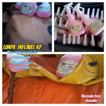 #limpa Inflável Kp Brinquedos Kp1000 Tobogã Castelinho 500ml
