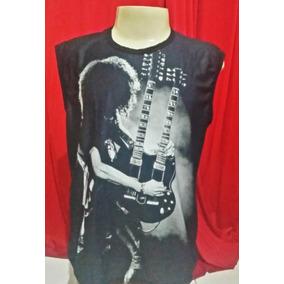 Camiseta Bandas Guns And Rose - Slach - Frente/costas