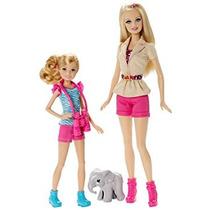 Juguete Barbie Hermanas Safari Fun Barbie Y Stacie Muñeca 2