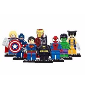 Boneco Lego Lebo Vingadores Herois Marvel Dc Liga Justiça