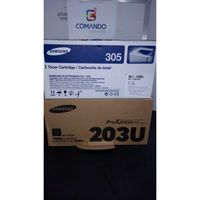 10 Toner Samsung D203/d305 Original Vazio Virgem