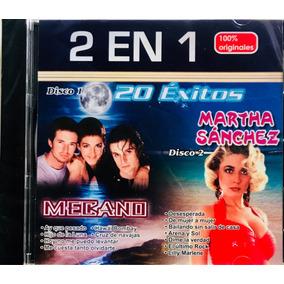 Mecano & Marta Sánchez, Cd 20 Exitos 2 En 1, Nuevo, Cerrado