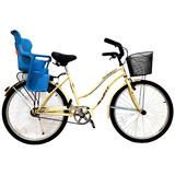 Bicicleta De Paseo Halley 19349 Rod 26 Silla P/ Chicos
