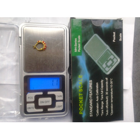 Balanza Cap 0,1-500g Para Oro Prenda Mh Series Pocket Scale