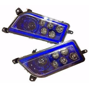 Faros Principales Led Azul Polaris Rzr 900 1000 Turbo Xp