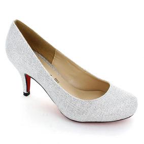 Zapatilla Para Mujer Muzza 9161-019437 Color Plata