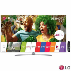 Smart Tv 4k Lg Led 55 Upscaler 4k Ultra Luminância 55uj7500