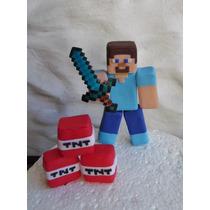 Adorno Para Tortas Minecraft
