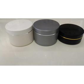 100 Potes Plásticos Vazios Para Cremes E Shampoo Variados