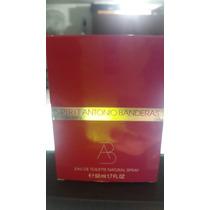 Perfume Spirit Antonio Banderas Women 50ml Original