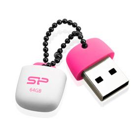 Silicon Power Memoria Usb 2.0 64gb Modelo Touch T07 Rosa