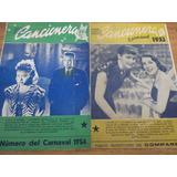 Libretos, Libros, Revistas, Suplementos Carnaval Uruguayo
